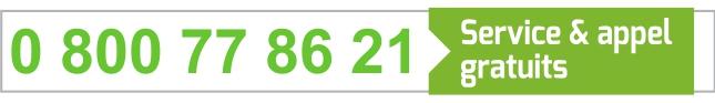 0 800 77 86 21 - Service et appel gratuits
