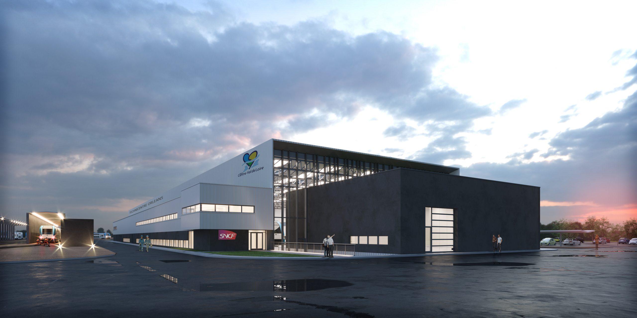 Futur centre de maintenance Orléans-Québec