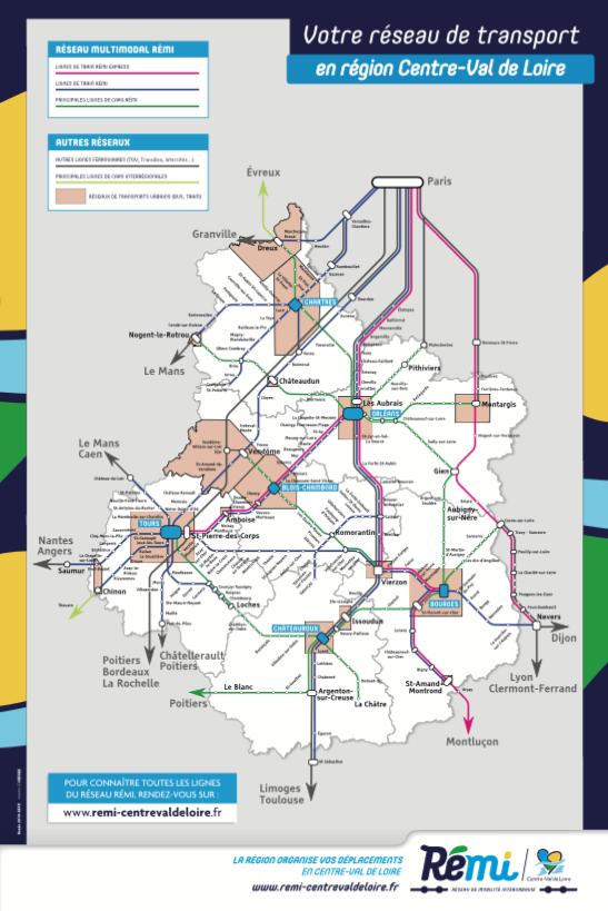 Plan Rémi régional. Sélectionner un département pour télécharger le plan Rémi correspondant au format PDF